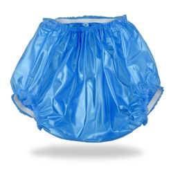 Vinyl Plastic Pants Blue