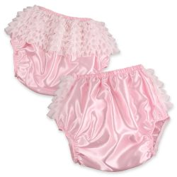 Pink Satin Rhumba Panties