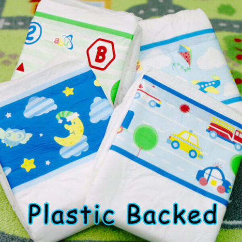 Plastic Backed