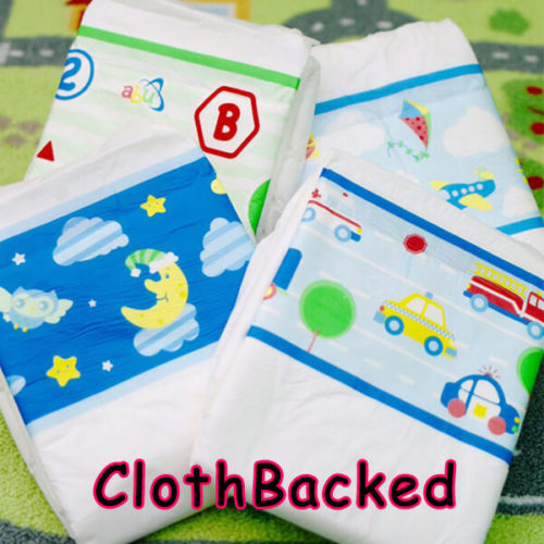 Cloth Backed Diapers